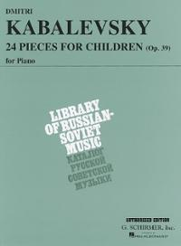 24-pieces-for-children-op-39-dmitri-kabalevsky-paperback-cover-art