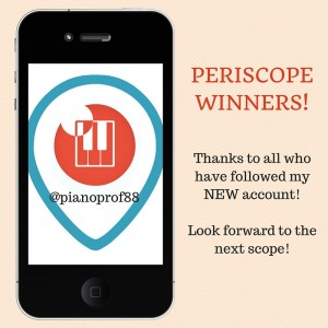 Periscope Winners