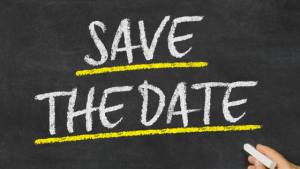 Blog Title - Save the Date